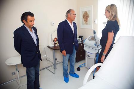 фотоотчет: Хавьер де Бенито в клинике MEDICI