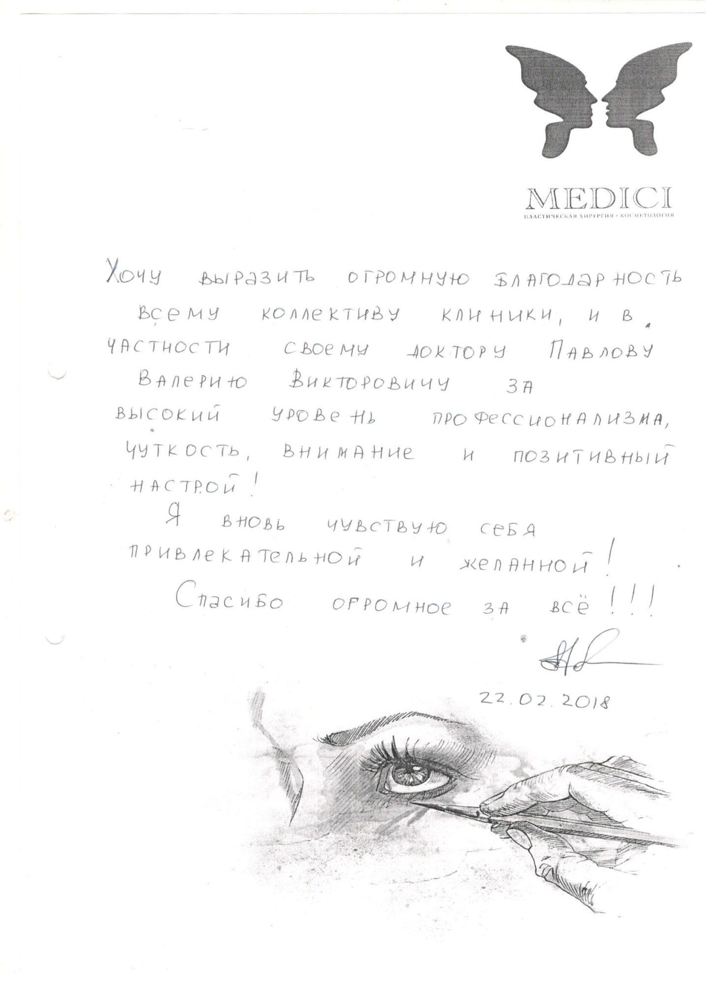 Отзывы пациентов клиники